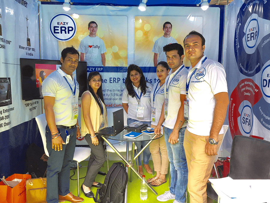 EAZY-ERP Successfully participated in recently concluded AAHAR