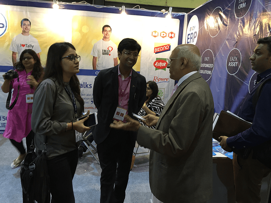 Eazy ERP, The Annapoorna World of food India 2016