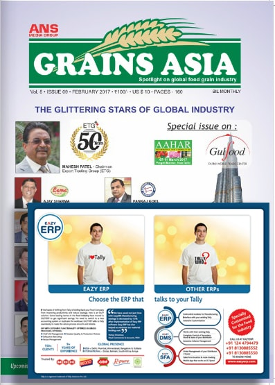 Grains Asia Magazine Coverage March 2017
