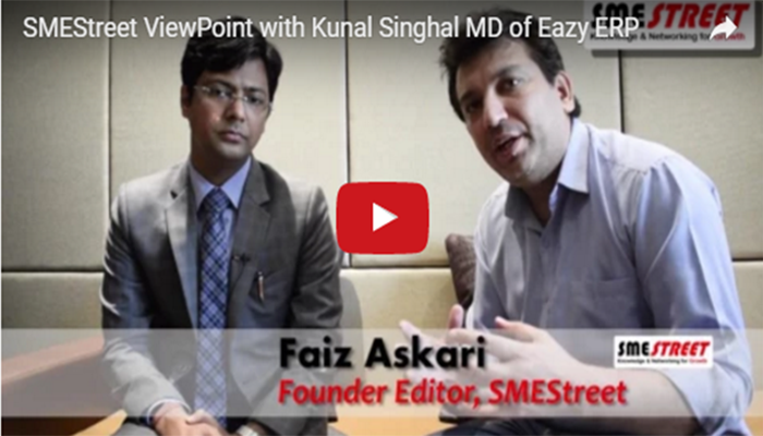 MD,Kunal Singhal's view on GST-SME Street Interview