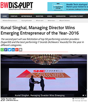 Eazy ERP,wins Emerging Entrepreneur of the Year
